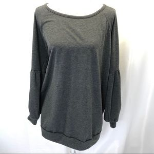PaperMoon Gray Pullover Sweater size 2XL